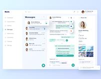 Medical Dashboard - Messages