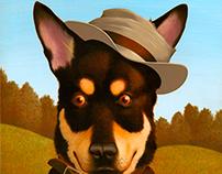 Dave Lenartz - commissioned dog portrait