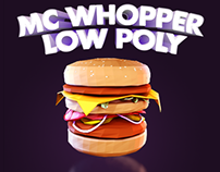 Mc Whopper - Low poly