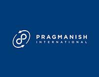 Pragmanish International Logo Design