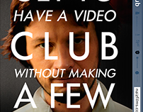 VIDEO SOCIAL CLUB - Promotional Material