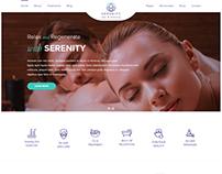 Serenity Website Design