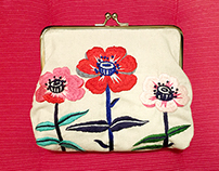 The 3rd Embroidered Pouch