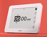 Robin Day Clock