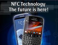 NFC Technology Poster