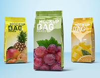 Foil Bag Mockup