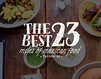 Tucson - Best 23 Miles of Mexican Food Logo