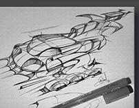 Doodling O