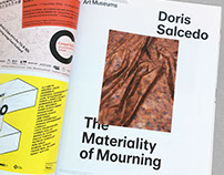 Doris Salcedo: The Materiality of Mourning, Advertising