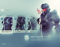 HALO 5 GUARDIANS UX & UI Design