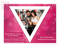 Special Valentine's Day Gym Offer for Couples