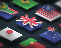 Flat Flags
