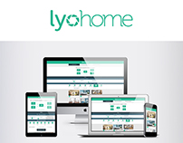 Application mobile et site internet Lyohome