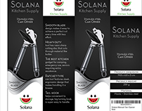 SOLANA Kitchen Supply Box DesIgn