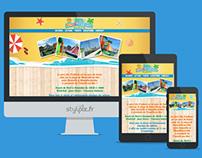 Site Internet Responsive - Parc Lilo Z'enfants