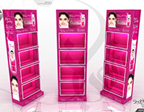 Fair & Lovely Glow Premium Display Rack Gondola