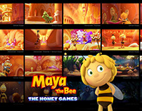 Maya the Bee 2 - Color Script