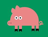 Pig a poster.