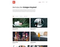 Clean Personal Portfolio UI Design