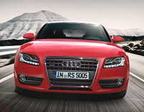 Audi A5 Sportback Class A Modelling and Visualization