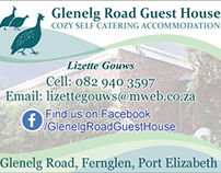 Glenelg Road Guest House Print Ad