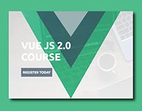 Vue JS Landing Page Concept