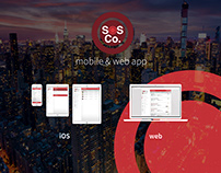 SOS Co. Mobile & Web App