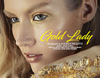 """Gold Lady"" - Elements Magazine January 2017"