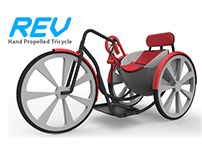 REV- Hand Propelled Tricycle