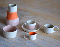 Hand–built pottery project