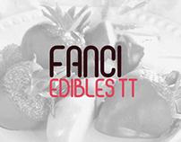 Fanci Edibles. Flyer Design - Trinidad and Tobago