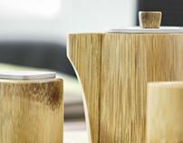 Modern Bamboo Teapot