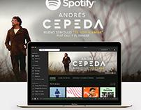 Spotify Filtr Andrés Cepeda Sencillo