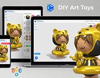 3D Custom Art-ToysConfigurator