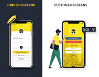 Taxi Booking App UI