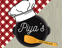 Logo and Cover picture for a Food Service Page