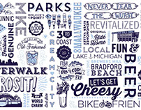 VISIT Milwaukee Type Walls