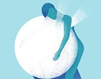 Illustration - Hugging the White Hole