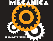 Cartaz Laranja Mecânica   Re-design