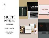 Multi Device Mockup Scene Creator