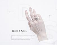 David&Sons Fine Jewelers — Web Design