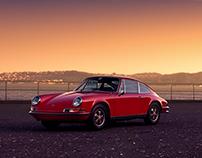 Porsche 911 E   California Vibes