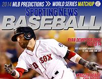 Sporting News Baseball Magazine Re-design