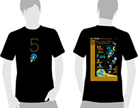 Quantcast 5th Anniversary t-shirt