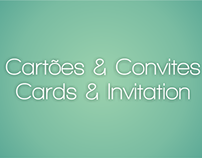 Cartões & Convites // Cards & Invitation