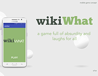 wikiWhat: a concept