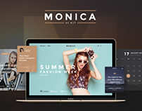 Monica - Creative UI Kit