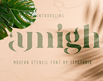 Free Font - Amigh