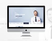 CVitae - Responsive Materialized Resume Intro 2