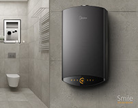 Midea-Water Heater Design In 2013